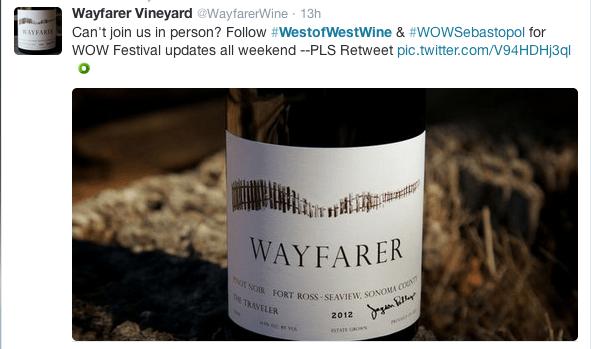 Wayfarer Wine