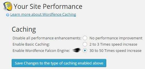 WordFence-Caching
