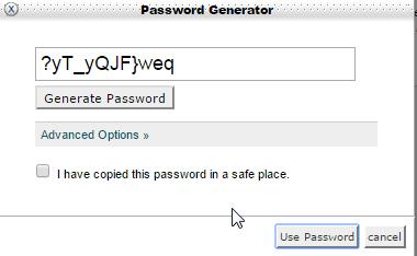 cpanel ftp password generator