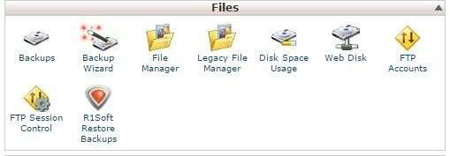 Cpanel Files Backup