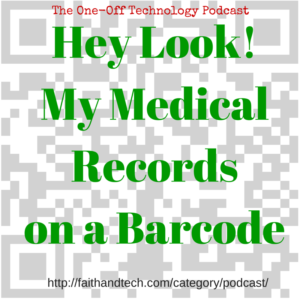 Hey Look My Medical Records On a Barcode