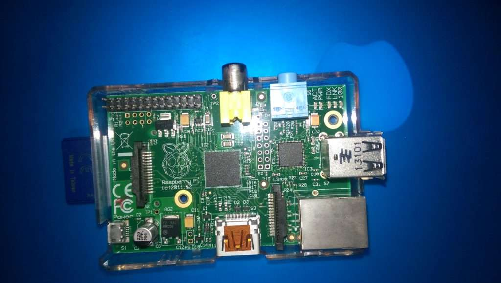 My Raspberry Pi B